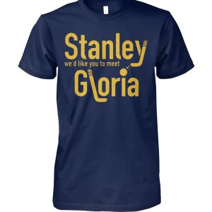 Stanley we'd like you to meet gloria unisex cotton tee