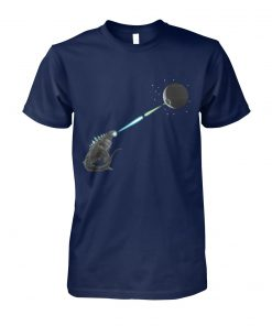 Star wars godzilla and death star unisex cotton tee