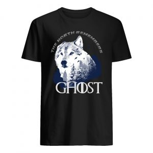 The north remember ghost game of thrones guy shirt