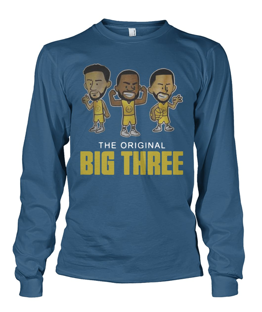super popular 8d342 d8b23 The original big three klay thompson draymond green and steph curry shirt  and unisex long sleeve