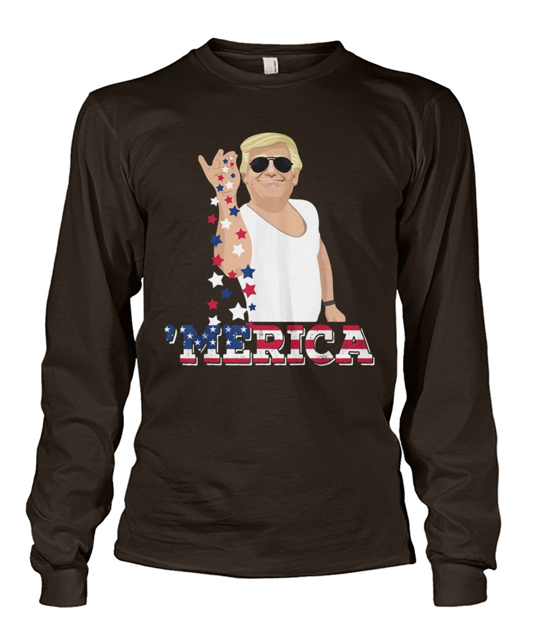 Trump bae 4th of july trump salt freedom unisex long sleeve