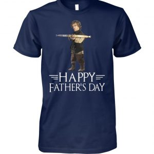Tyrion lannister killing father happy father's day game of thrones unisex cotton tee