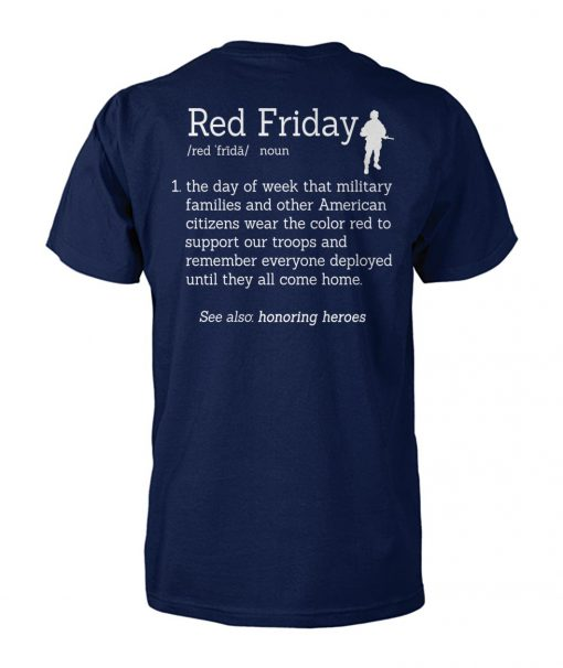 Veteran red friday definition unisex cotton tee