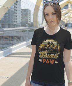 Vintage grand paw dog shirt