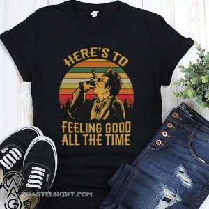 Vintage krame here's to feeling good all the time seinfeld shirt
