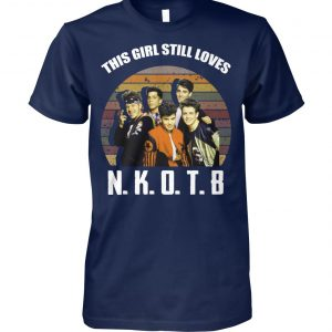 Vintage this girl still loves nkotb unisex cotton tee