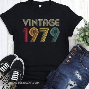 40th birthday vintage 1979 shirt