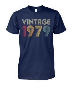 40th birthday vintage 1979 unisex cotton tee