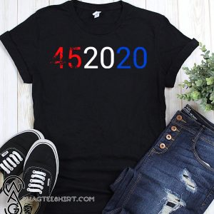 452020 vote Donald Trump shirt