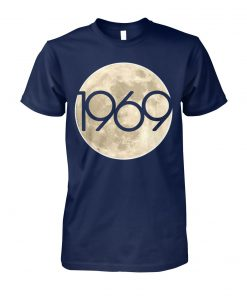 50th anniversary apollo 11 1969 moon landing unisex cotton tee