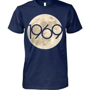 50th anniversary apollo 11 1969 moon landing unisex cotton tee
