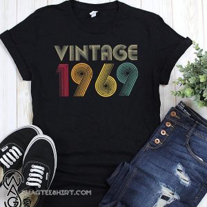 50th birthday vintage 1969 shirt