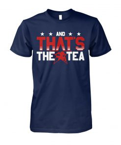 Alex Morgan and that's the tea unisex cotton tee