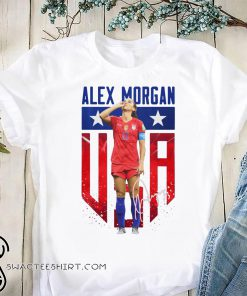 Alex morgan US women's world cup trolling england iconic celebration shirt