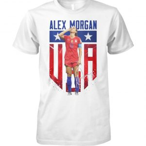 Alex morgan US women's world cup trolling england iconic celebration unisex cotton tee
