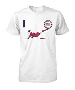 Alyssa Naeher land of the free home of the save unisex cotton tee