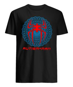 Autism man spider-man men's shirt