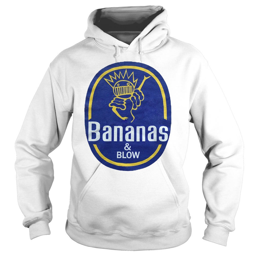 Bananas and blow boognish ween hoodie