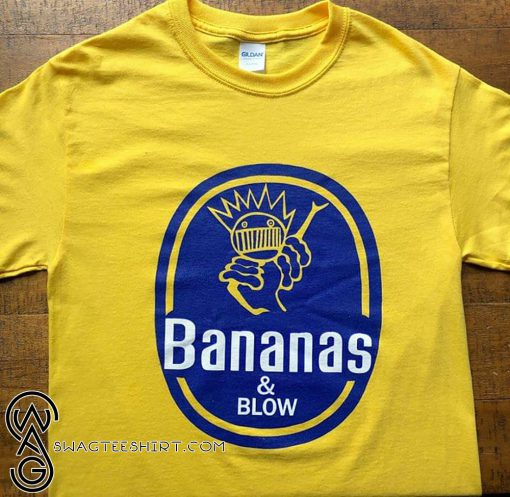 Bananas and blow boognish ween shirt