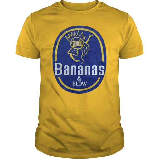 Bananas and blow boognish ween unisex shirt