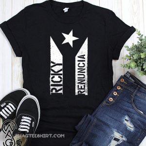 Bandera negra de puerto rico black puerto rico flag shirt
