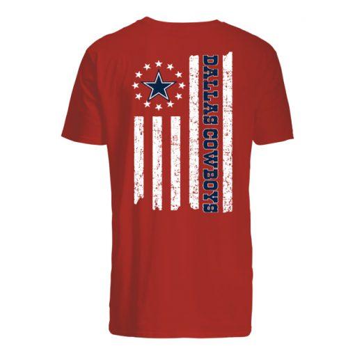Betsy ross flag dallas cowboys men's shirt