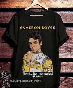 Cameron boyce thanks for memories 1999-2019 shirt