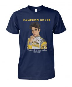 Cameron boyce thanks for memories 1999-2019 unisex cotton tee