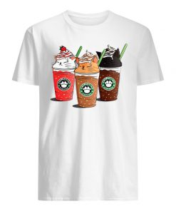 Cats catpucchino coffee men's shirt
