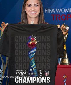 Champions USA women's world cup france 2019 shirt