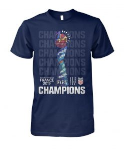 Champions USA women's world cup france 2019 unisex cotton tee