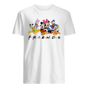 Disney character mickey mouse and friends men's shirt