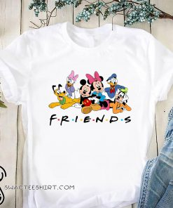 Disney character mickey mouse and friends shirt