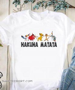 Disney the lion king hakuna matata shirt