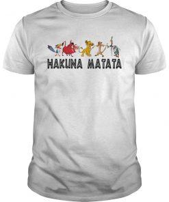 Disney the lion king hakuna matata unisex shirt