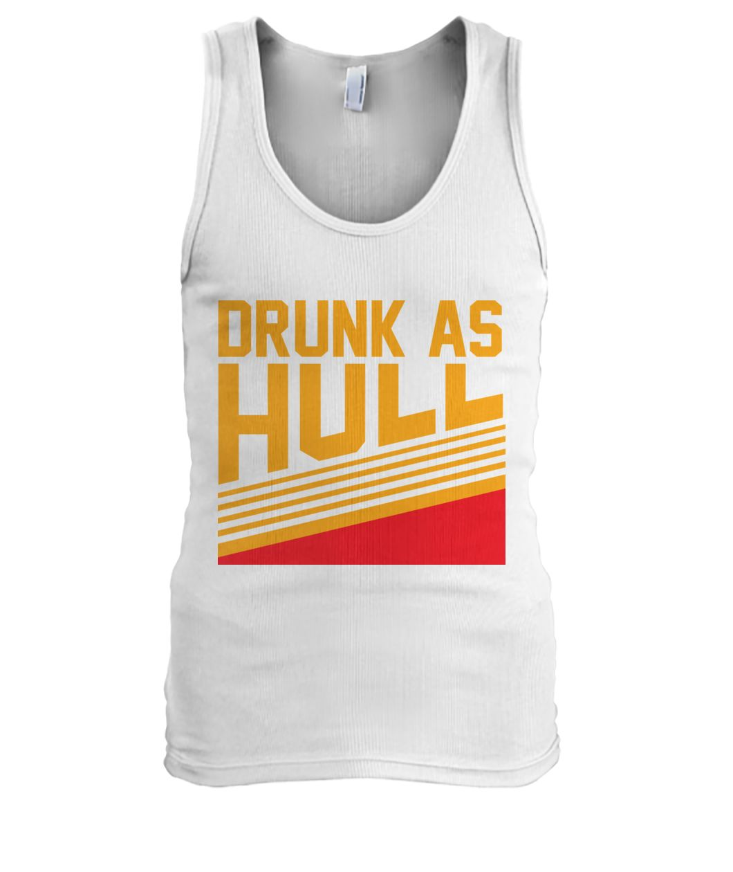 Drunk as hull St louis hockey men's tank top