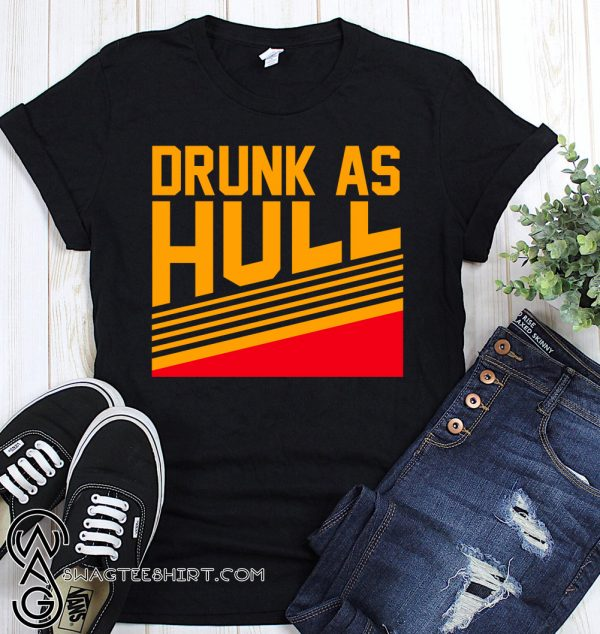 Drunk as hull St louis hockey shirt