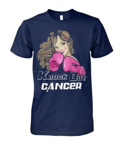 Knock out breast cancer unisex cotton tee