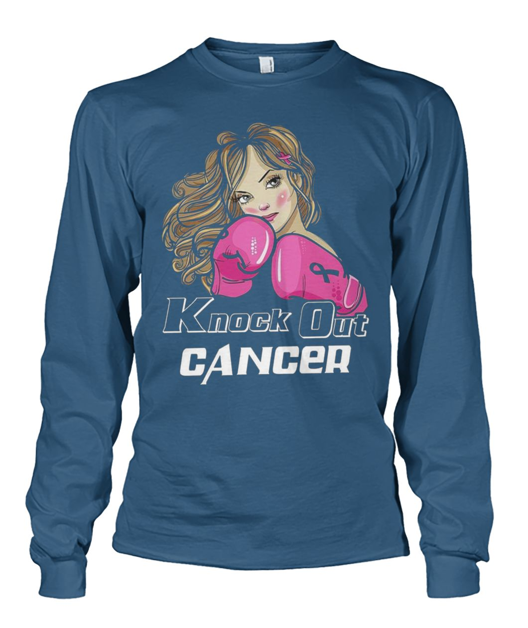 Knock out breast cancer unisex long sleeve