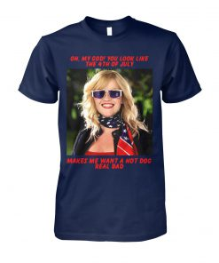 Legally blonde oh my god you look like the 4th of july unisex cotton tee