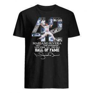 Mariano rivera 42 new york yankees signature men's shirt