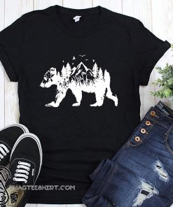 Mountains bear shirt