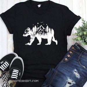 Mountains bear shirt