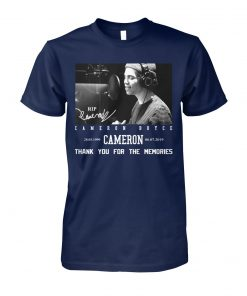 RIP Cameron Boyce thanks for memories unisex cotton tee