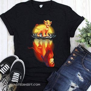 Reflection the lion king shirt