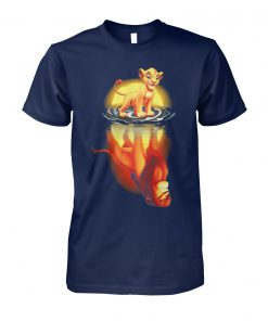 Reflection the lion king unisex cotton tee