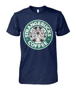 Strangebucks coffee unisex cotton tee