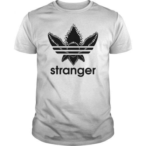Stranger things adidas logo unisex shirt