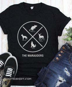 Stranger things the marauders X shirt