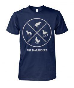 Stranger things the marauders X unisex cotton tee